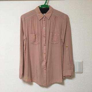 カーネリアン(carnelian)のシャツ Mサイズ くすみピンク(シャツ/ブラウス(長袖/七分))