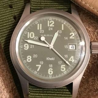 ハミルトン(Hamilton)のHAMILTON Khaki ハミルトン カーキ swiss  (腕時計(アナログ))