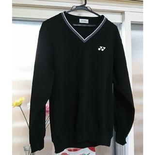 ヨネックス(YONEX)のYONEX ヨネックス トレーナー テニス 黒 L(ウェア)