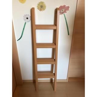 美品!二段ベッド 梯子(ロフトベッド/システムベッド)
