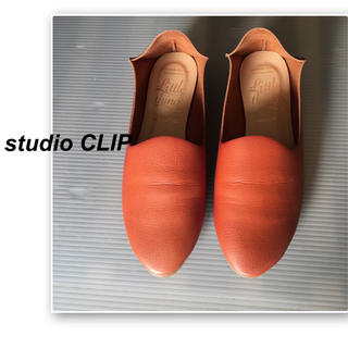 スタディオクリップ(STUDIO CLIP)のスタジオクリップ  ✨キャメルブラウンのスリッポン(スリッポン/モカシン)