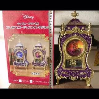 ディズニー(Disney)のディズニープリンセス プレミアムゴージャススイングクロック ラプンツェル(置時計)