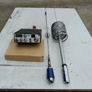 無線機、CB無線機アンテナセット。(アマチュア無線)