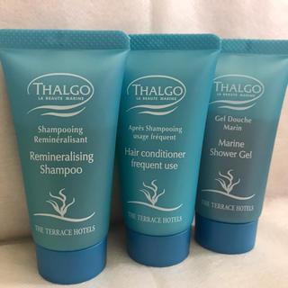 タルゴ(THALGO)の新品!今だけ価格THALGOアメニティ3品セット!(アメニティ)