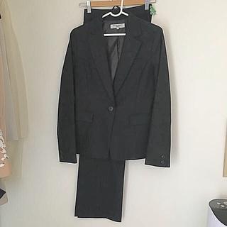 ナチュラルビューティーベーシック(NATURAL BEAUTY BASIC)のナチュラルビューティーベーシックグレーパンツスーツLパンツ2本(スーツ)