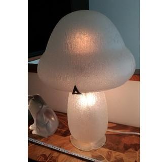 大型ナンシードームNancy Daumアールデコクリスタルテーブルガラスランプ(ガラス)