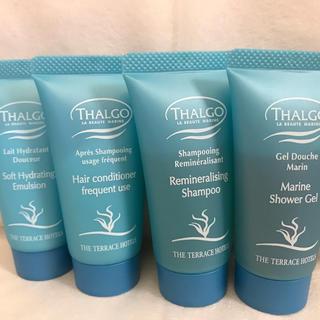 タルゴ(THALGO)の新品!今だけ価格THALGOアメニティ4品セット!(アメニティ)