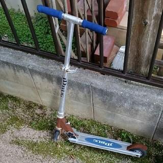 青いキックボード(三輪車/乗り物)