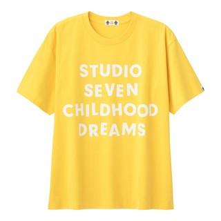 GU - 【値下げ】【Mサイズ】STUDIO SEVEN Tシャツ イエロー