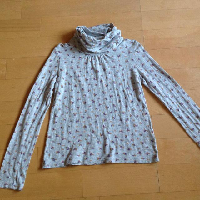 しまむら(シマムラ)のOUR PROPERTY 綿100% 春向け タートルネック ナチュラル レディースのトップス(カットソー(長袖/七分))の商品写真