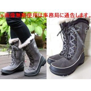 ソレル(SOREL)の美品 SOREL ソレル ティボリ 3 ハイ ボア スノー ブーツ(ブーツ)