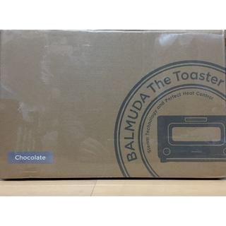 バルミューダ(BALMUDA)の【新品】バルミューダ スチームオーブントースター K01E-CW (ショコラ)(調理機器)