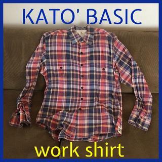 カトー(KATO`)の春物kato basic work shirt(シャツ)