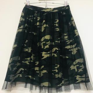 チェリーアン(cherry Ann)のチェリーアン 迷彩スカート(ひざ丈スカート)
