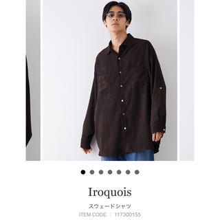 イロコイ(Iroquois)のIropuois イロコイ スウェードシャツ(シャツ)