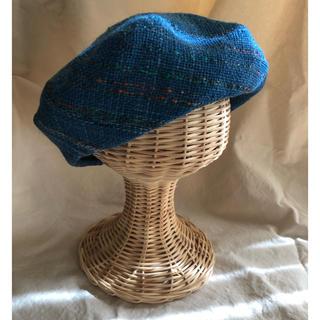 さをり織り ベレー帽 (帽子)