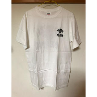ハイスタンダード(HIGH!STANDARD)のpizza of  deathTシャツ 白(ミュージシャン)