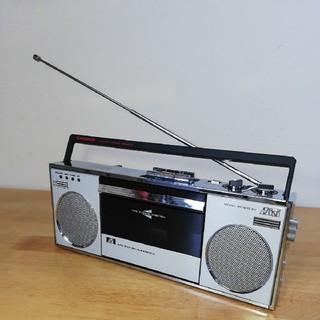 パイオニア(Pioneer)の【美品】レア PIONEER / パイオニア ミニラジカセ SK-Q10 SV (ラジオ)
