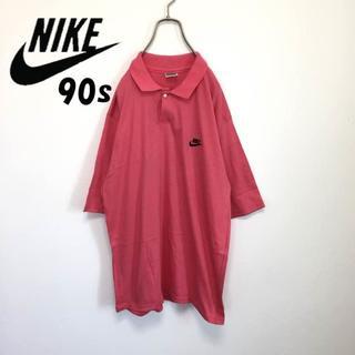 ナイキ(NIKE)の90s Nike ナイキ ポロシャツ 銀タグ 美品(ポロシャツ)