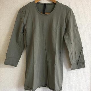 ダブルジェーケー(wjk)のwjk ヘヴィージャージー7部カットソー M(Tシャツ/カットソー(七分/長袖))