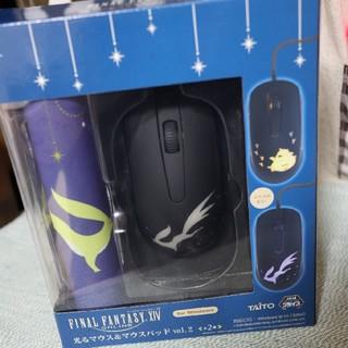 タイトー(TAITO)の【FinalFantasy】光るマウス&マウスパッド(PC周辺機器)