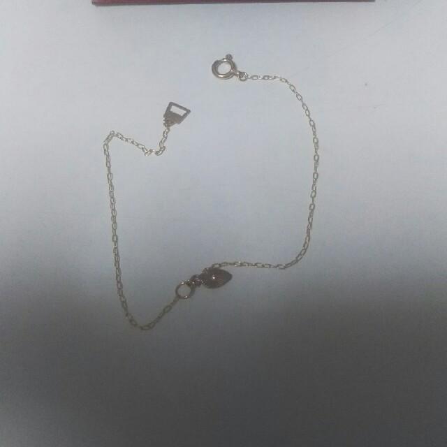 AURORA GRAN(オーロラグラン)の新品未使用のAURORA GRANの10Kのブレスレッド レディースのアクセサリー(ブレスレット/バングル)の商品写真