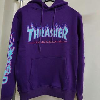 スラッシャー(THRASHER)の☆お値下げ☆ 新品  THRASHER/スラッシャー フード付き パーカー(パーカー)