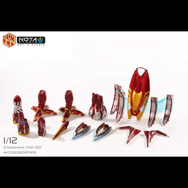 1/12 s.h.figuarts アイアンマン マーク50專用改造武器パーツ エンタメ/ホビー
