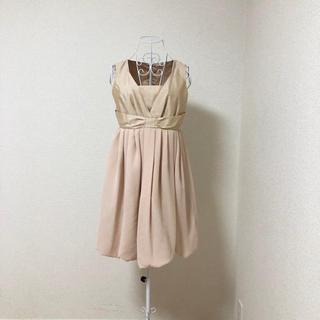 ディアプリンセス(Dear Princess)のDear Princess リボン ドッキング ワンピース ドレス 38(ミディアムドレス)