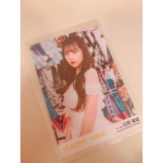 エヌエムビーフォーティーエイト(NMB48)のNMB48 白間美瑠  ジワるDAYS 生写真(女性アイドル)