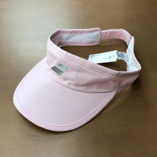 バボラ(Babolat)のバボラ サンバイザー Light pink(ウェア)