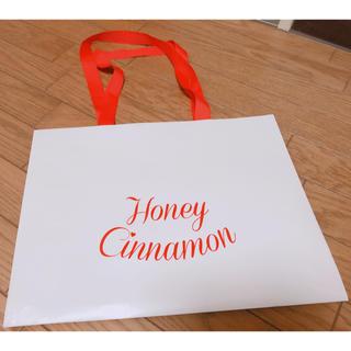 ハニーシナモン(Honey Cinnamon)のハニーシナモン ショップ袋(ショップ袋)