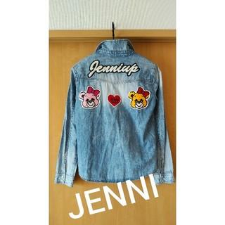 ジェニィ(JENNI)のJENNI ★  ワッペンデニムシャツ 150160(Tシャツ/カットソー)