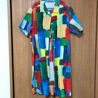グラニフ(Design Tshirts Store graniph)の柄シャツ(シャツ/ブラウス(半袖/袖なし))