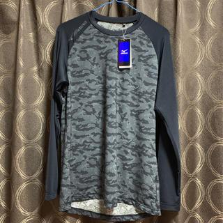 ミズノ(MIZUNO)のミズノ迷彩柄長袖シャツ(Tシャツ/カットソー(七分/長袖))