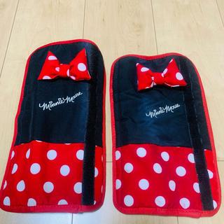 ディズニー(Disney)のミニーマウス 車用 シートベルト(車内アクセサリ)