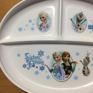 アナトユキノジョオウ(アナと雪の女王)のアナと雪 プレート皿(キャラクターグッズ)
