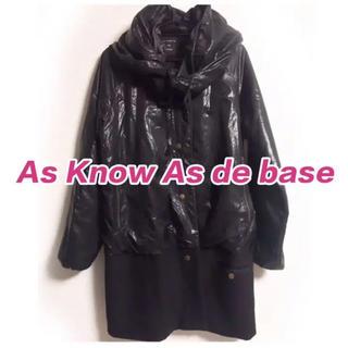 アズノゥアズドゥバズ(as know as de base)のAs Know As de base アズノゥアズドゥバズ  コート(ロングコート)