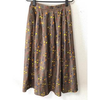 チャイルドウーマン(CHILD WOMAN)の新品タグ付き!小花柄ロングスカート(ロングスカート)