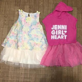 ジェニィ(JENNI)の女の子まとめ売り 140(ワンピース)