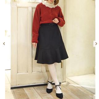 アンアナザーアンジェラス(an another angelus)の裾フレアースカート(ひざ丈スカート)