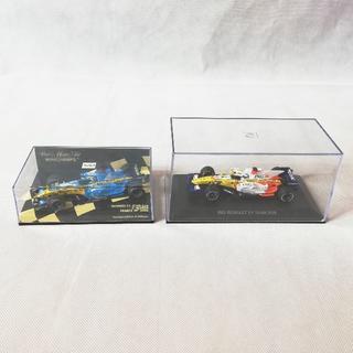 F1 RENAULT ルノー ING フィギア2個セット(スポーツ)