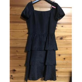 ソワール(SOIR)の東京ソワール ブラック ドレス(スーツ)