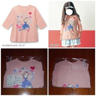 ディズニー(Disney)の新品 ディズニー ちいさなプリンセスソフィア 七分袖 チュニック(Tシャツ)