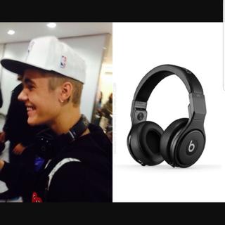 ビーツバイドクタードレ(Beats by Dr Dre)の極美品 BEATS PRO ブラック DJ Justin Bieber 三代目(その他)