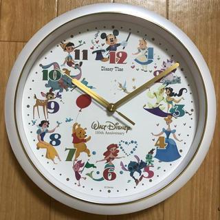 Disney - 壁掛け時計  ウォルトディズニー110thアニバーサリー