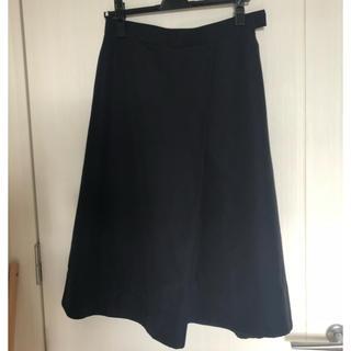 デミルクスビームス(Demi-Luxe BEAMS)のデミルクスビームス ラップ風フレアスカート(ひざ丈スカート)