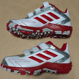 アディダス(adidas)の野球トレーニングS 20cm アディダス adipure TR J(シューズ)