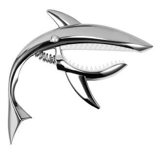 大人気!カポタスト シャークカポ サメ シャーク シルバー 252(その他)