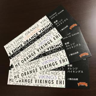 愛媛オレンジバイキングス観戦チケット(2階自由席)(バスケットボール)